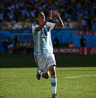 天使补时绝杀阿根廷1比0瑞士 真梅西送致命助攻假梅西洒泪