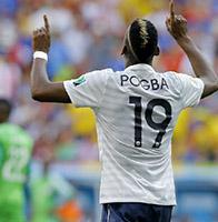博格巴破门 法国2-0尼日利亚晋级八强将迎战德国队