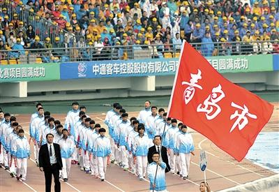 省运会首日青岛军团金牌破百