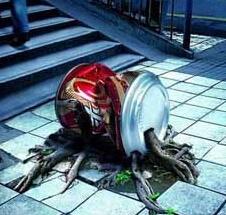 不要让垃圾在城市扎根繁衍