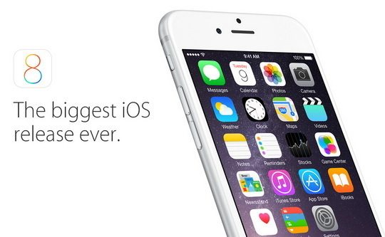 """IOS8让新机变""""砖头"""""""