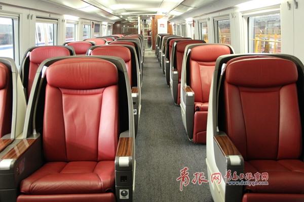 围观!揭秘青荣城际铁路动车组 四大车型