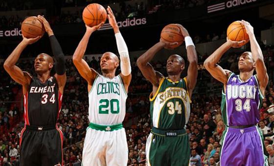 NBA历史三分王决定重返联盟!骑士马刺领衔6队哄抢