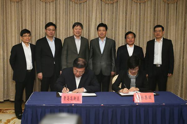 青岛高新区管委副主任尚立群