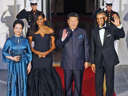 奥巴马设国宴招待习近平夫妇