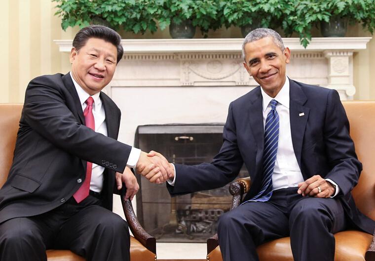 习近平同美国总统奥巴马举行会谈