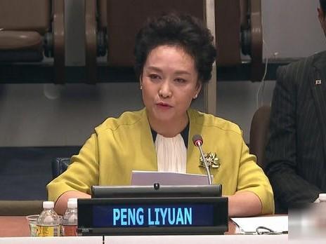 彭丽媛联合国会议全程英文演讲