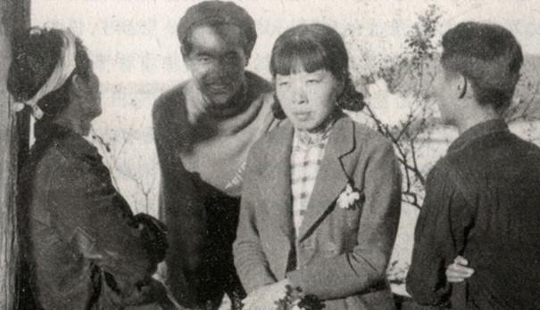 老照片:民国美女作家萧红