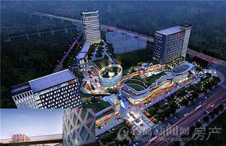 外媒视角 > 正文          青岛晶岳商业广场项目位于红岛上马街道.