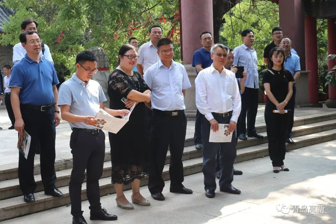海南省副省长刘平治一行来高新区调研