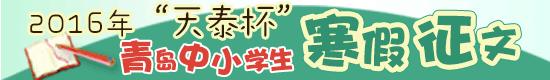 2016天泰杯寒假征文