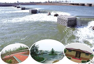 大沽河两岸堤顶道路全线贯通
