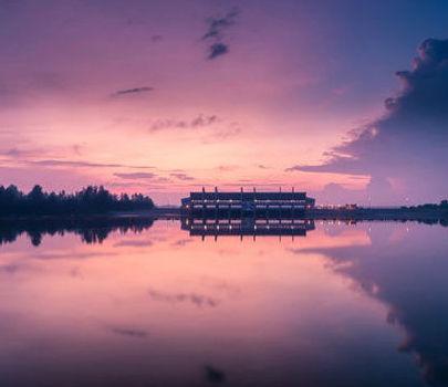 值得打飞的观看的新加坡绝色夜景