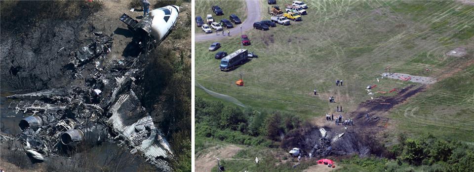 美国飞机坠毁致7人死亡 事故调查进行中