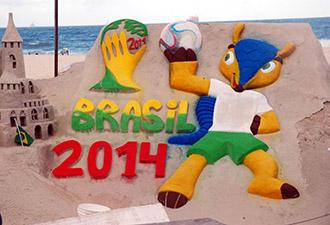 世界杯沙雕:以此为景拍照收费