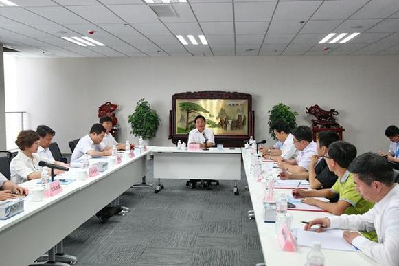 张新起在青岛蓝海股权交易中心调研 强调突出创新高效