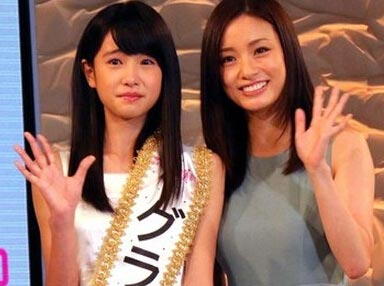 日本選拔美少女初中生奪冠