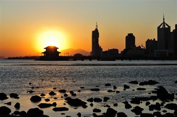 前海风景-栈桥