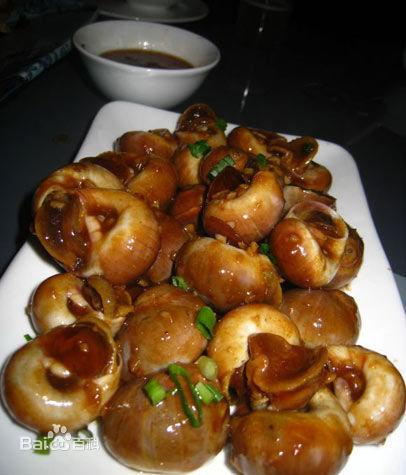 油爆海螺被选为青岛市的招牌代表菜 你同意吗?图片