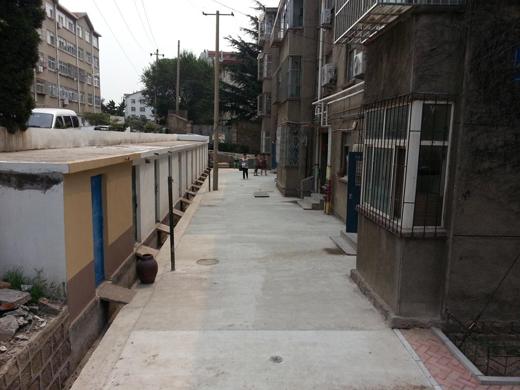 楼山街道两处80年代旧楼院启动整治(图)