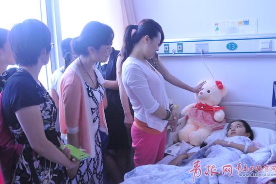 11岁可爱小女孩患上恶性肿瘤