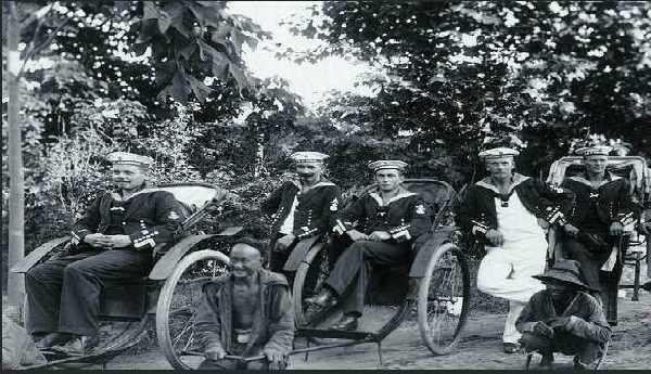 德占青岛时期的德国军官和士兵