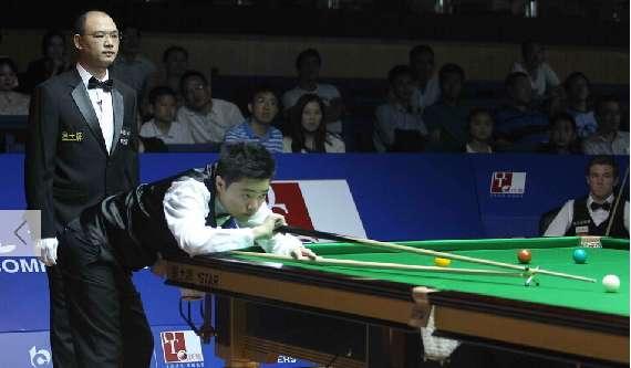 上海赛-丁俊晖轰单杆128分 5-1轻取对手
