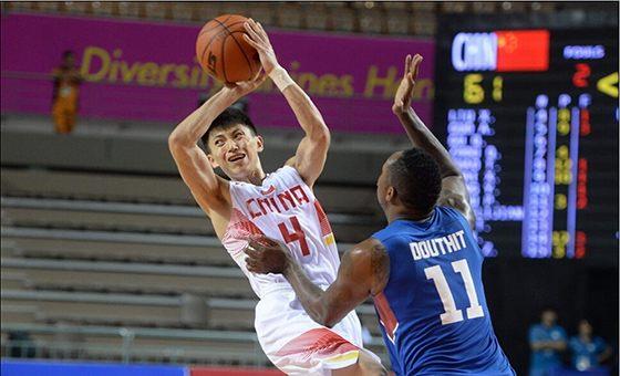 中国男篮胜菲律宾将争第五 刘晓宇16分5助攻