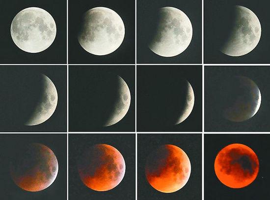今晚去青岛情人坝看月全食吧