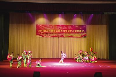 农村文化艺术节胶州启幕