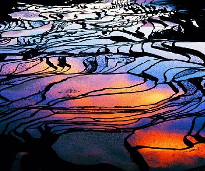 世界上最色彩斑斓的15大景观
