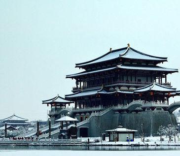 西安下雪了 一起來西安看雪景吧