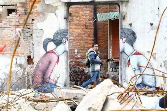 废墟涂鸦比美术馆更诱人?