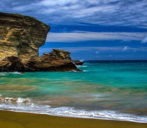盘点:世界上不同色彩最美的彩色沙滩