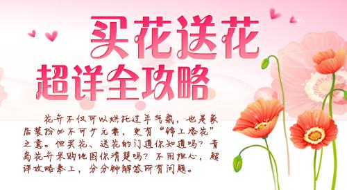 过年买花送花超详攻略来了 青岛花卉地图奉上