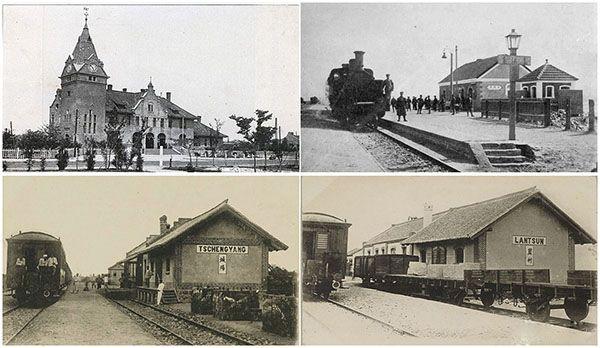 珍贵老照片系列:百年胶济铁路青岛段老站