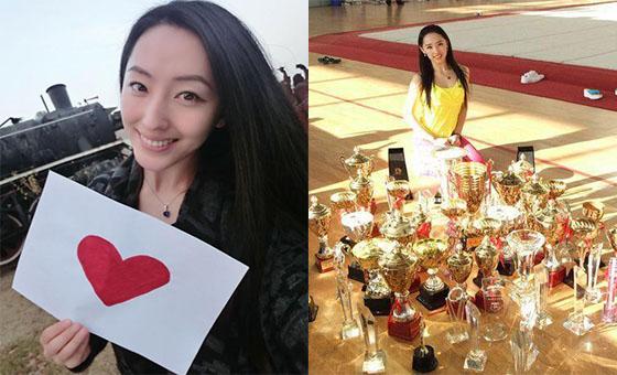 浙大美女体育老师爆红 拿过多项全国冠军