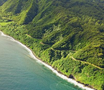 夏威夷哈纳公路:全程雨林短途公路旅行