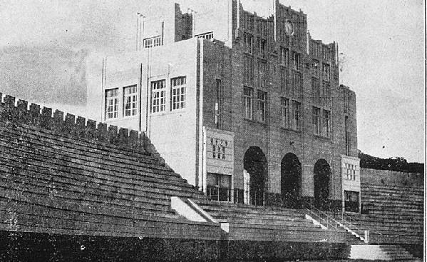 青岛第一体育场:仿洛杉矶体育场样式修建