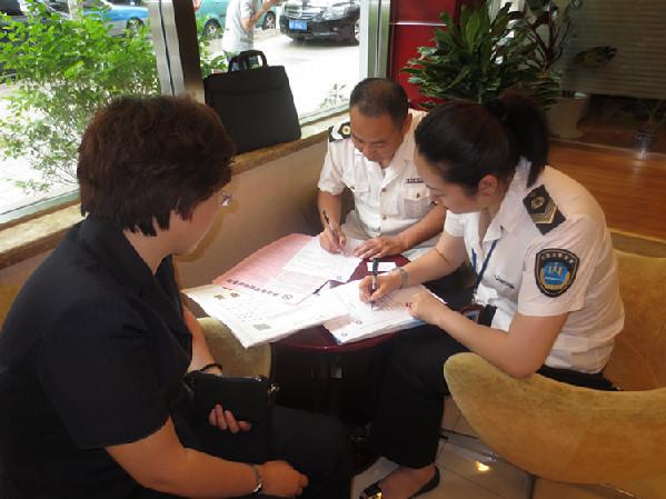 区卫生局开展控烟工作集中执法行动