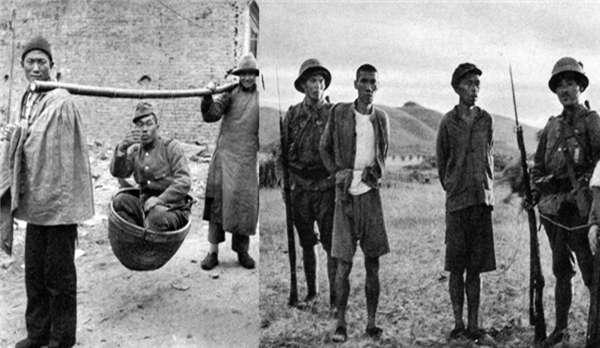 侵华日军私人相册:刺刀下的中国人