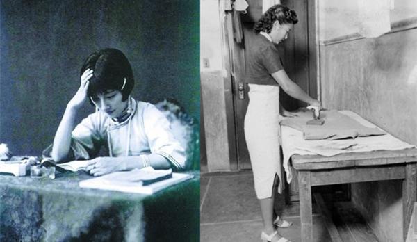 民国女子经典老照片:旗袍学生装是标配