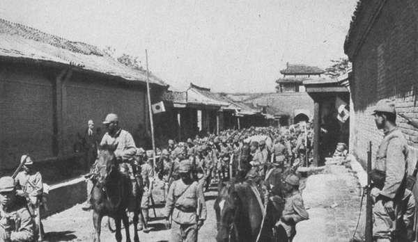 1937年日军侵占华北实录:耀武扬威的侵略者