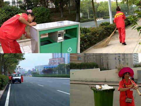 视频:城市清洁者——你们辛苦啦!