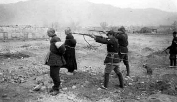 组图:八路军抗战后惩处汉奸