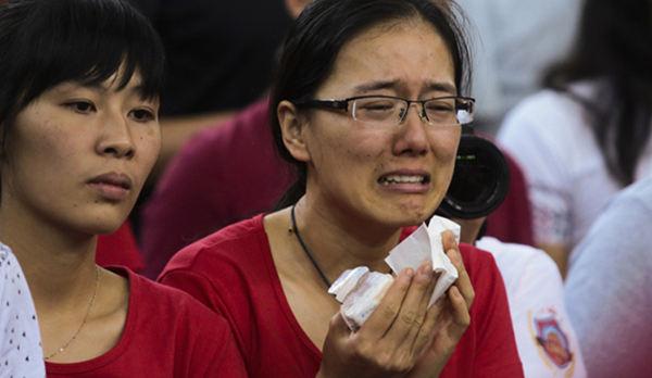 中国女篮35分惨败日本 球员低落球迷痛哭