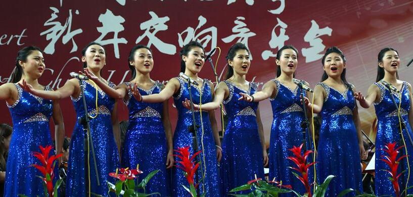 青岛高校举办新年音乐会 奏响新年新篇章
