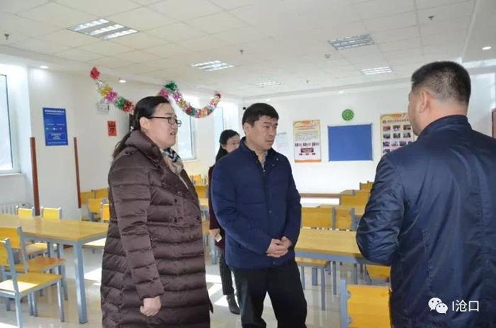 区委常委 统战部部长谭鹏同志到街道 社区调研