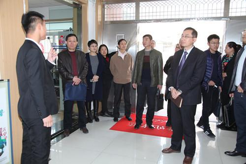 潍坊市临朐县到金门路街道仙游路社区考察学习