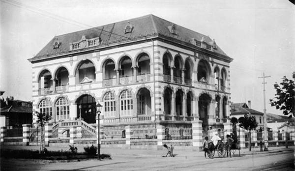 老照片:德占青岛时期修建的著名德式建筑